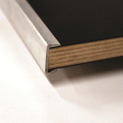 Original Series 60 Semi Circle Folding Table Frame Finish: Black, Edge: Vinyl Flush Edge (VFE)