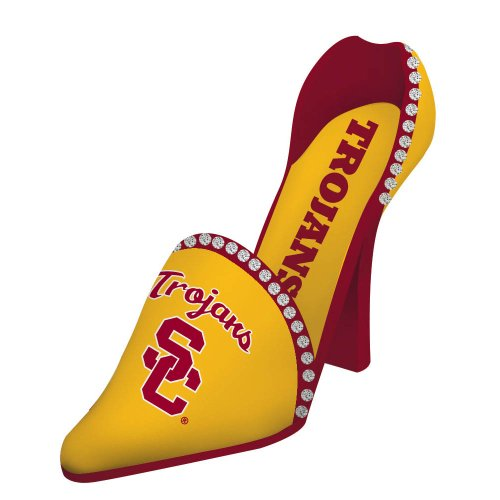 University of Southern California High Heel Shoe Bottle Holder