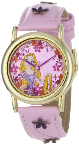 Disney Kids' RA1025  Tangled Rapunzel Dial Pink Strap Watch
