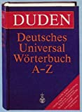 Duden: Deutsches Universal Worterbuch A-Z (3411021764) by Duden