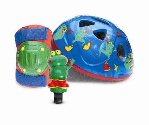 Bell Toddler Bike Helmet Value Pack (Funny Frogs)