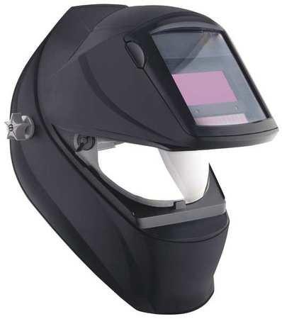 Welding Helmet, Auto Darkening, 1-9/16in.h (Color: Black)