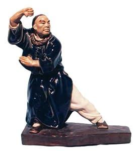 Shaolin Kung Fu Master - Shiwan Ceramic Statue