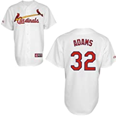 Matt Adams St Louis Cardinals Home Replica Jersey by Majestic by Majestic