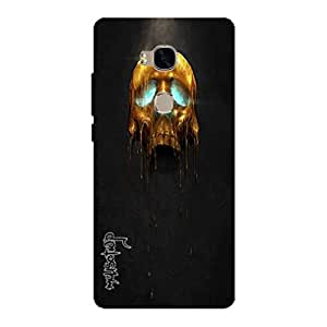 Premium Quality Mousetrap Printed Designer Full Protection Back Cover for Huawei Honor 5X-414
