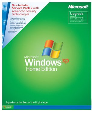 Windows XP Home Edition Upgrade with Service Pack 2