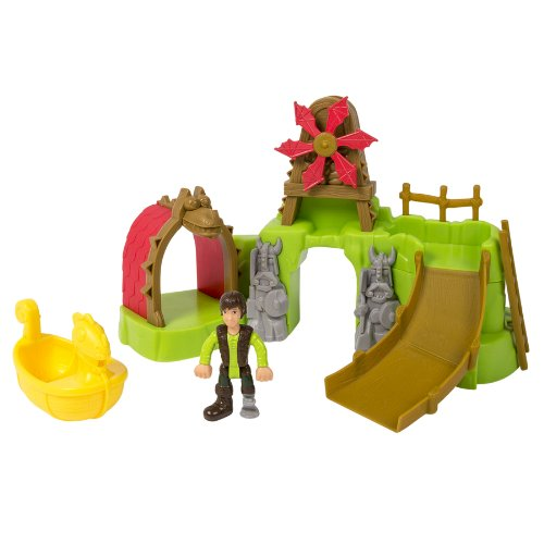 Dreamworks Dragons: How To Train Your Dragon 2 - Berk Island Bathset front-493952