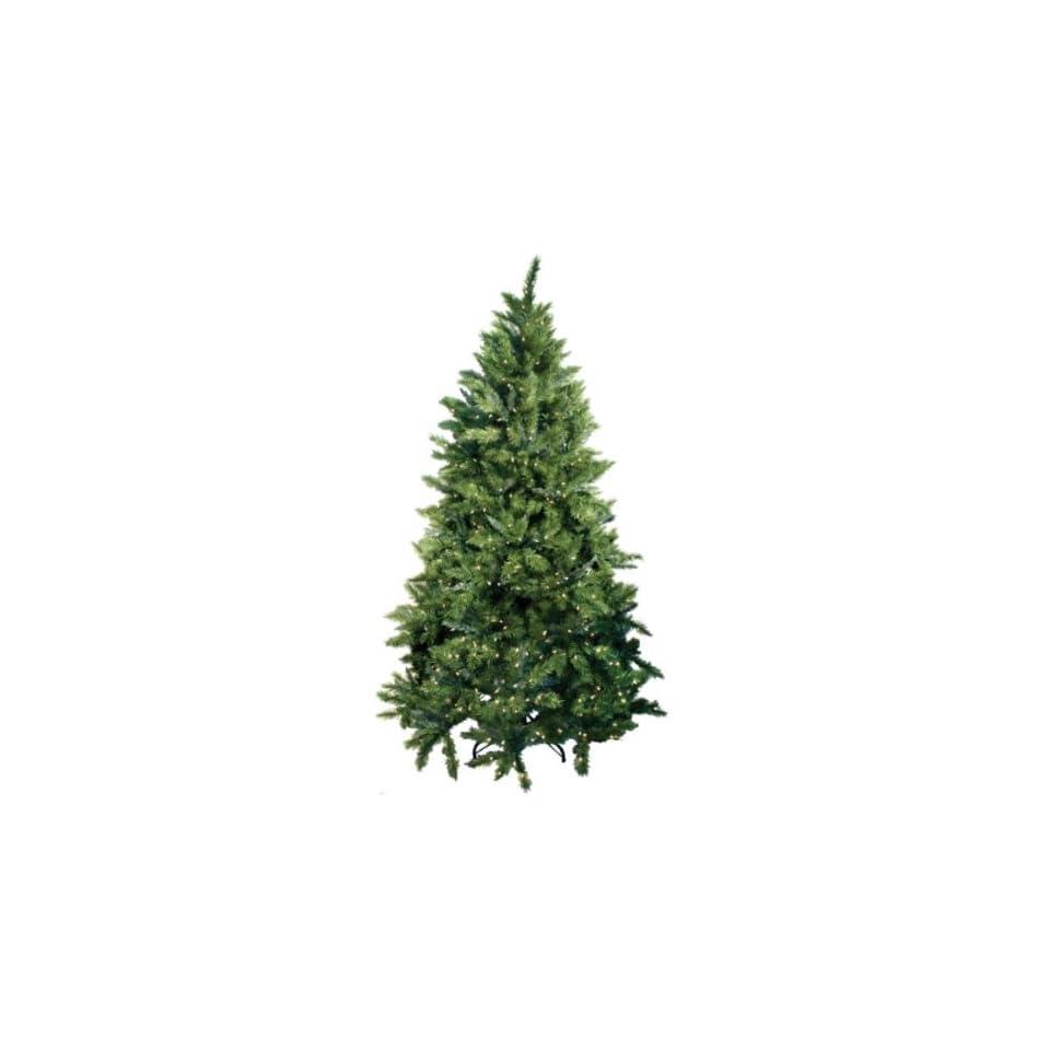 Good Tidings Calgary Spruce Artificial Prelit Christmas Tree, 9ft Tall