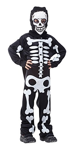 Ace Halloween Children's Kids Boys Scary Skeleton Ghost Costumes