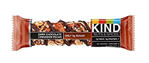 KIND Nuts & Spices jnbrl Bars - Dark Chocolate Cinnamon Pecan - 36 Count from KIND