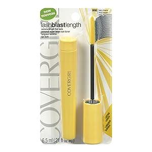 CoverGirl LashBlast Length Mascara Very Black 800, 0.21-Ounce Tube