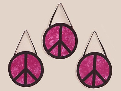 Peace Sign Bedding Sets on Pink Groovy Peace Sign Tie Dye Wall Hanging Accessories By Jojo
