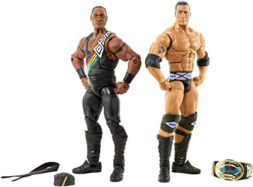 WWE Elite Collector The Nation of Domination: The Rock & Faarooq 2-Pack