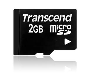 Transcend Micro SD 2GB Speicherkarte