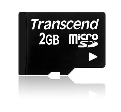 Transcend MicroSDHC 2GB Memory Card