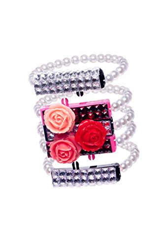 Licensed 2 Play Click-eez Rose Collection Bracelet - 1