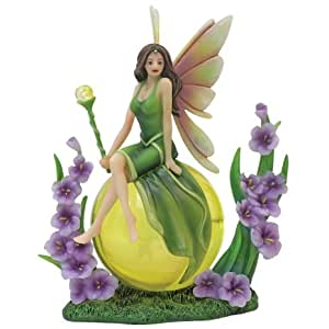 Jennifer Galasso Collectible Birthday Fairy Birthstone Figurine - August Statue