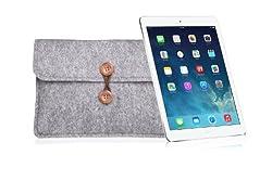 Bear Motion for iPad Air - Premium Felt Sleeve Case for iPad Air and iPad Air 2