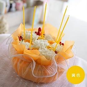 フラワーケーキ(黄色)