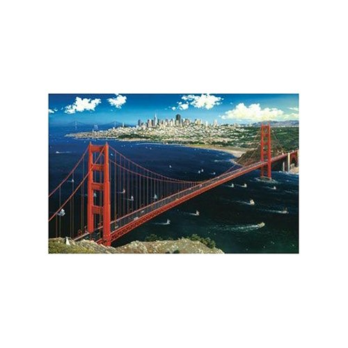 Golden Gate View Jigsaw Puzzle 1000pc - 1