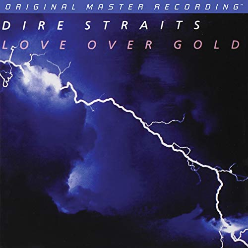 SACD : DIRE STRAITS - Love Over Gold