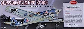 Maquette en bois - Messerschmitt BF-109