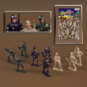 "2 1/2"" Army Men with Detailed Features Set - 1"