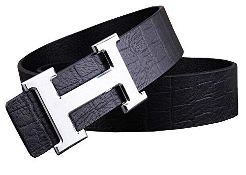 okoko-uomo-moda-h-fibbia-pelle-cinture-38cmh3-115cmup-to-39-waist-nero-argento