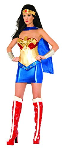 Secret Wishes Women's DC Comics Wonder Woman Classic Deluxe Costume