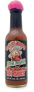 Crazy Jerry's Brain Damage & Mind Blowin' Hot Sauce, 5 fl oz