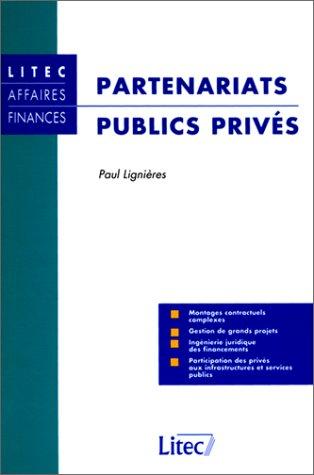 Partenariats publics privés (ancienne édition)