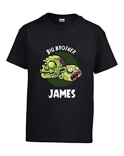 Halloween Costume James Big Brother Funny Boys Personalized Gift - Kids T Shirt
