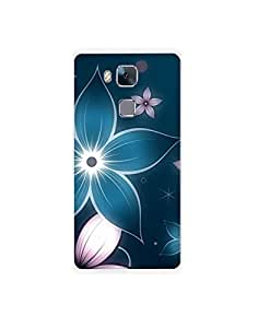 HUAWEI honer 5c ht003 (72) Mobile Case by Mott2 - Glowing Flowers (Limited Time Offers,Please Check the Details Below)