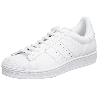 adidas Originals Men's Superstar II Basketball Shoe, White, 9 M