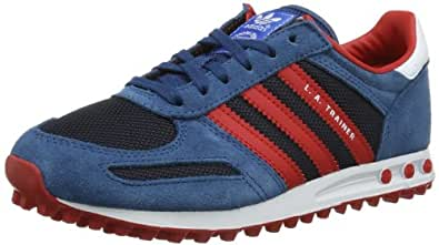 adidas Originals La Trainer K-2 D67902, Unisex - Kinder Sneaker, Blau (LEGEND INK S10/COLLEGIATE RED/RUNNING WHITE FTW), EU 29