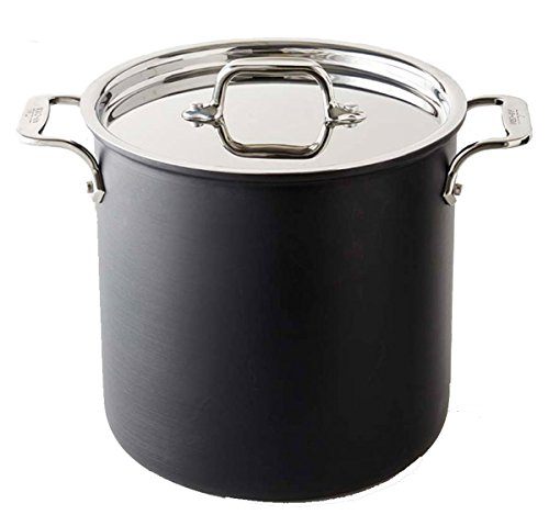 All-Clad E78679DI NS1 Nonstick Induction 8 Qt Stock Pot (Stock Pot For Induction Cooktop compare prices)