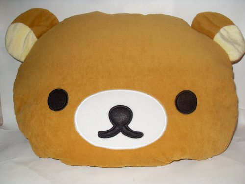Rilakkuma 16″ Pluh Pillow and Cotton Quilts: 2 in 1