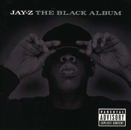 Black Album Artwork Produced by Just Blaze, the lack of Jay's voice on the