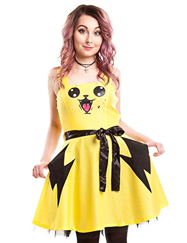 Abito Splash Cupcake Cult (Giallo) - Large