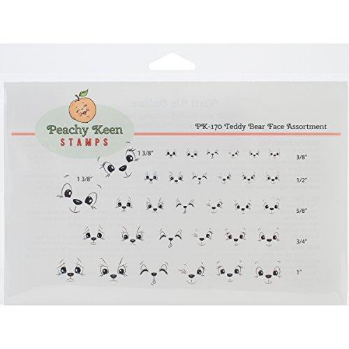 peachy-keen-stamps-clear-face-assortment-3-teddy-bear