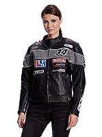 Roleff Racewear Chaqueta Moto (Negro)