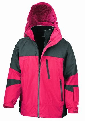 Result Arctic Peninsula Hi-Tech 4-in-1 Jacket Red/Black XL