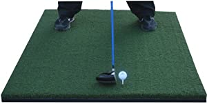 "36"" x 60"" Ultimate XL SuperMat Golf Turf - Hold A Wooden Tee"