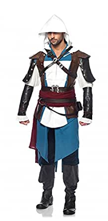 Leg Avenue Mens Assassin's Creed Black Flag Edward Costume