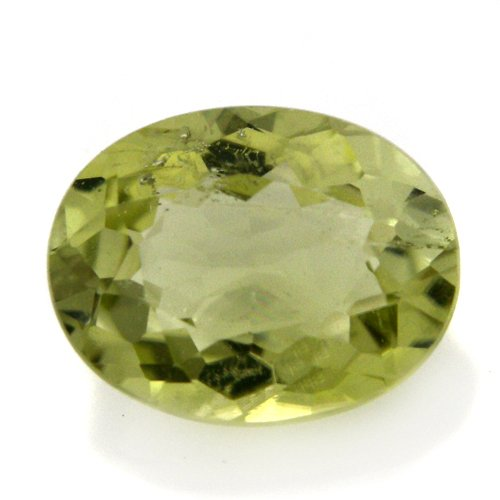Natural Green Paraiba Tourmaline Loose Gemstone Oval Cut 5*6mm 0.80cts SI Grade