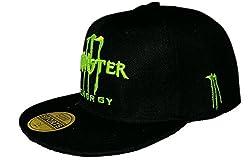 Monster Energy Hip Hop Cap (Black)