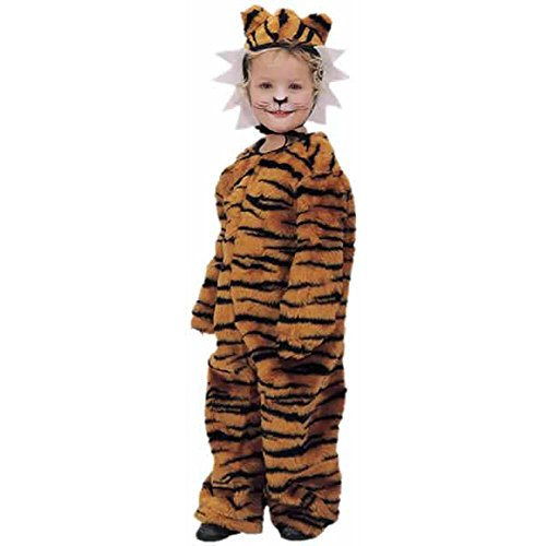 Childs Toddler Plush Tiger Halloween Costume (2-4T)