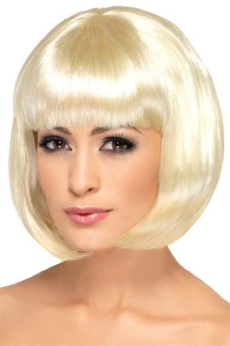 Smiffy'S Partyrama Wig, Blonde, One Size