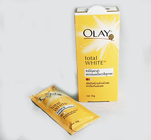 Olay Total White Spot Lightening Day Cream (Net Wt.0.35 Oz Or 10 G. X 6 Sachets) front-497600