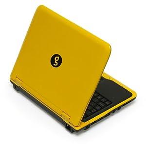 "Sylvania GNET28001SO Meso 8.9"" Netbook PC (1.6 GHz Intel Atom Processor, 1 GB RAM, 80 GB Hard Drive, Ubuntu OS) Yellow"